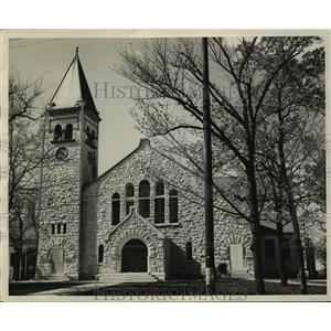 1954 Press Photo The newly reconstructed Edward Dwight Eaton chapel at Beloit