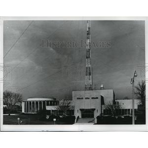 1972 Press Photo WTMJ, WTMJ-FM & WTMJ-TV-Radio City Exterior - mja19903