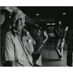1978 Press Photo Ed Walloch, unofficial mayor- Southgate Shopping Center
