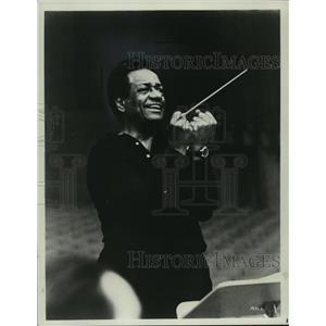 1971 Press Photo U. S. Conductor Dean Dixon  - mja07828