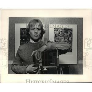 1987 Press Photo Eric John Wallner, photographer - mja19102