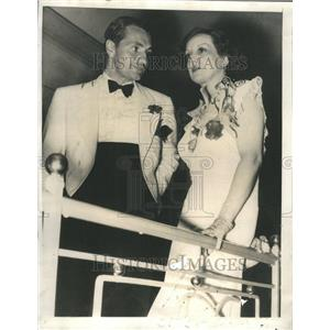 1935 Press Photo Estelle Taylor Hollywood Night Club - RRR49497