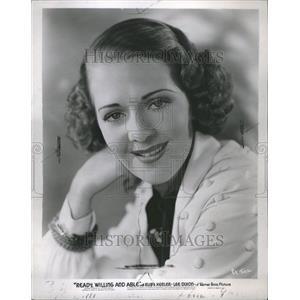 1937 Press Photo Ruby Keeler Warner BrosAl Jolso Widel - RRR69607