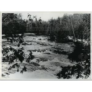 1978 Press Photo The Wolf River Between Pearson and the Indian Reservation