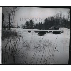 1967 Press Photo Above Langlade county where the Wolf River begins its drop.