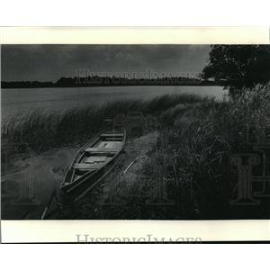 1985 Press Photo Lake Ivanhoe, a unique rural community - mja38818
