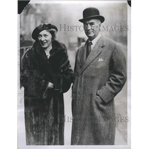 1934 Press Photo Elsie Ferguson -Actress - RRR67003