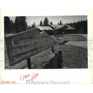 1989 Press Photo Open house was held at the Camp Caro lodge - spa35871