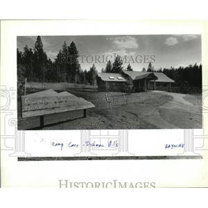 1989 Press Photo Camp Caro at Dishman Hills Natural Area hnew lodge - spa35876