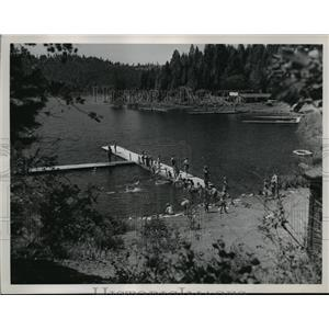 1951 Press Photo Camp Four Echoes - spa36376
