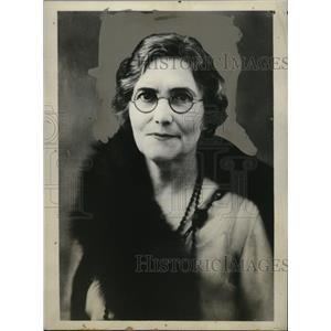 1931 Press Photo Opal L. Pangborn, Mother of Pilot Clyde Pangborn - neo03345