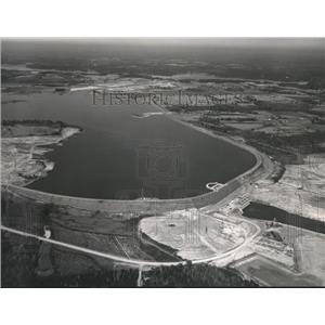 1968 Press Photo Alabama-The Walter Bouldin Dam, on the Coosa River.