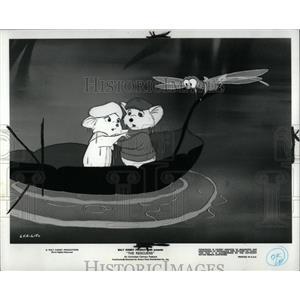 1977 Press Photo Bernard Bianca Walt Disney Production