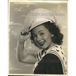 1943 Press Photo Jane Withers American Actress and Singer. - lfz00248