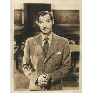 "1947 Press Photo Zachary Scott as Bradd Criley in MGM ""Cass Timberlane""."