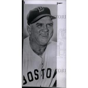 1950 Press Photo Steve O'Neill Manager Boston Red Sox - RRX39267