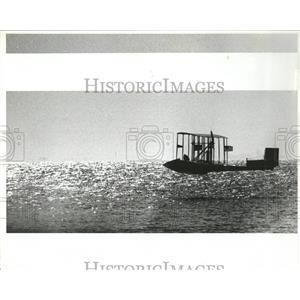 1984 Press Photo Benoist plane over Tampa Bay FL - RRX84821