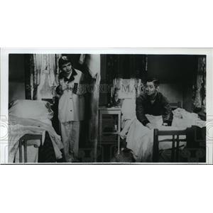 1991 Press Photo Clark Gable & Claudette Colbert in It Happened One Night, 1934.