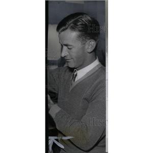 1935 Press Photo Joe Sullivan Detroit Tigers Pitcher - RRX39055