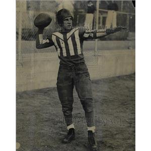 1934 Press Photo Frank Gentile Salida High Quarterback - RRX71533