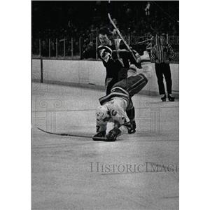 1979 Press Photo Colorado Rockies Ice Hockey Team - RRW80649