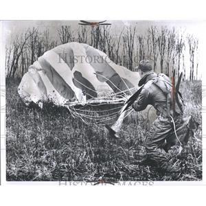 1960 Press Photo National Guard Aero Bases Selfridge MI