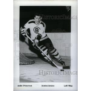 1962 Press Photo Andre Pronovost Boston Bruins Wing - RRX39495