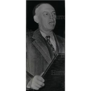 1946 Press Photo Louis F. Budenz/Author/Communism - RRX41793