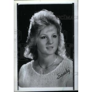 1986 Press Photo Sandy Stroud - RRX40355