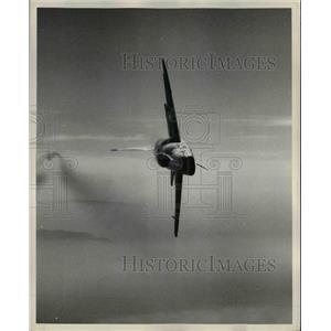 1957 Press Photo F100D Super Sabre of the US Army Air Corps - nem38922