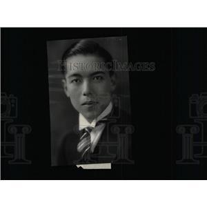 1929 Press Photo TOSHIKAZU KASE JAPANESE CIVIL SERVANT - RRX73029