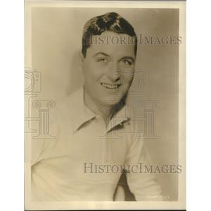 "1929 Press Photo Charles King, Broadway star, in MGM's ""The Broadway Melody"""