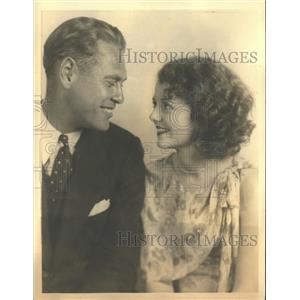 1932 Press Photo Janet Gaynor, Film Star and husband Lydell Peck, Oakland Lawyer