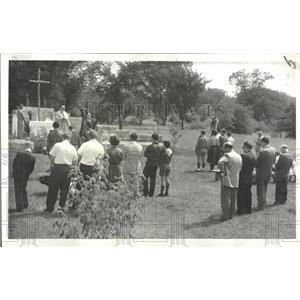 1960 Press Photo Ukrainian Youth Camp.