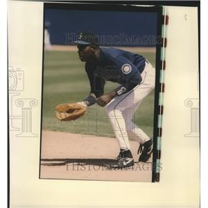 1994 Press Photo Seattle Mariners baseball player, Reggie Jefferson - sps10883