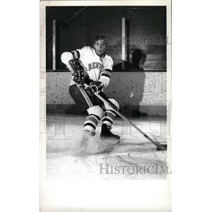 1973 Press Photo Rob Palmer Hockey University Denver - RRW73889