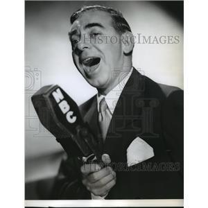 1946 Press Photo Eddie Cantor on The Eddie Cantor Show, on NBC Radio.