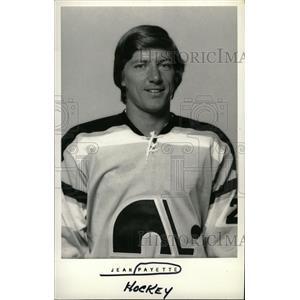 1973 Press Photo Jean Payette Quebec Nordiques NHL - RRW73765