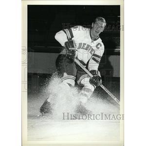 1973 Press Photo Denver University Ice Hockey Stick - RRW74475