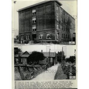 Press Photo Stamping/Enamel Plant Strike/Indiana - RRX72255