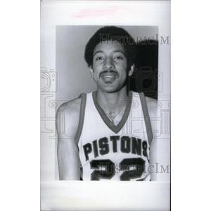 1977 Press Photo Louie Nelson Detroit Pistons player - RRX40041