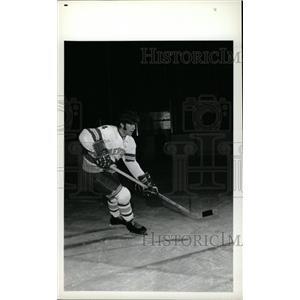 1973 Press Photo Bob Young Denver University Hockey - RRW73895