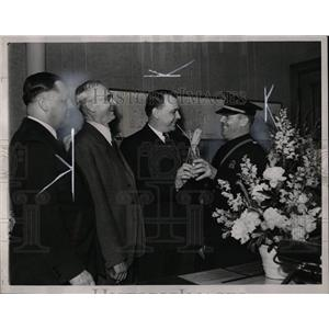 1938 Press Photo Mounted Dectective Police - RRW01637