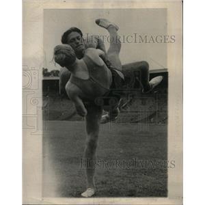 "1946 Press Photo Ancient Nordic Sport, ""Kloforago"" - RRX69727"