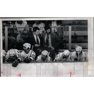 1981 Press Photo Bill MacMillan Terry Harper Rockies - RRX43053