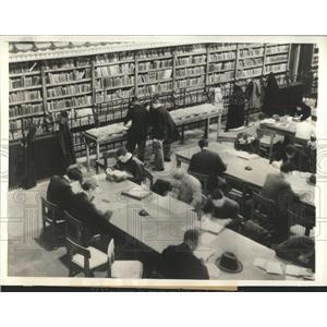 1932 Press Photo St. Genevieve's Library Sorbonne Paris - RRX83487