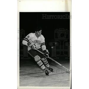 1973 Press Photo Alex Shibicky Denver University Ice Ho - RRW73963