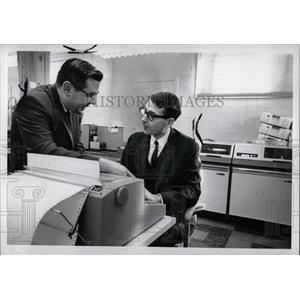 1967 Press Photo Computer Programmable Machine Sequence - RRW89275
