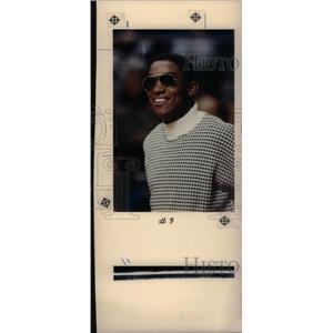 1990 Press Photo Isiah Thomas Pistons Basketball - RRX38817