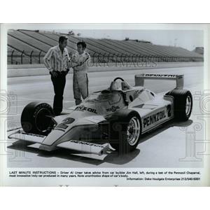 1979 Press Photo Pennzoil Chaparral Indy Car Al Unser - RRW62685